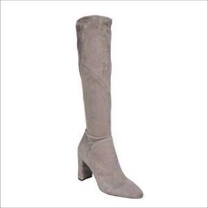 Franco Sarto chunky block heels knee high boots